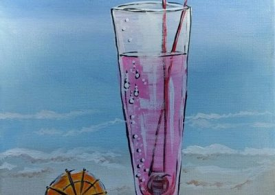 A-0003 BEACH UMBRELLA DRINK