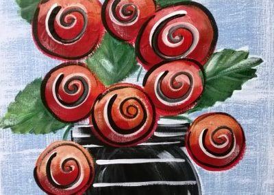 RED ROSIES