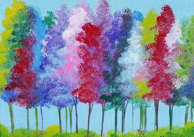 A-0016 COTTON CANDY TREES