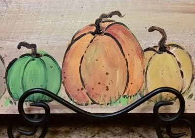 F-0031 PUMPKIN PATCH BOARD