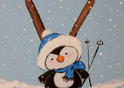 W-0063 Penguin Skier