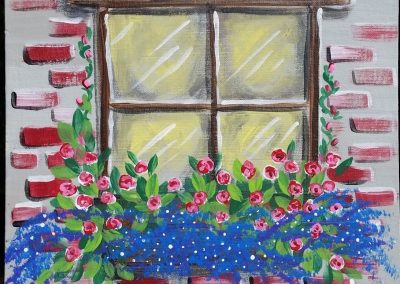 A-0013 FLOWER BOX WINDOW