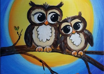 FW-0039 JUST YOU AND ME-OWLS
