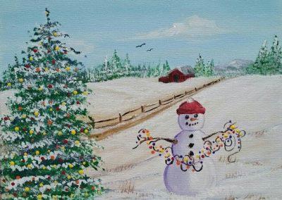 W-0068 SNOWMAN CELEBRATION