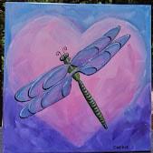 Cathie's Paint Parties I LOVE DRAGONFLIES