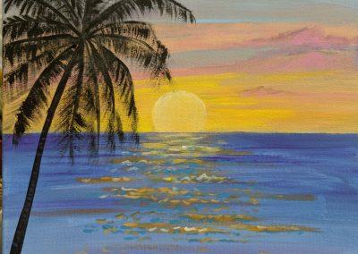 Cathie''s Paint Parties Hawaiian Sunset