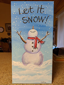 Let it Snow Canvas